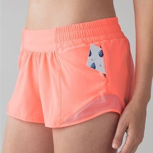 "Lululemon Hotty Hot Short II (2.5"") in Pop Orange"